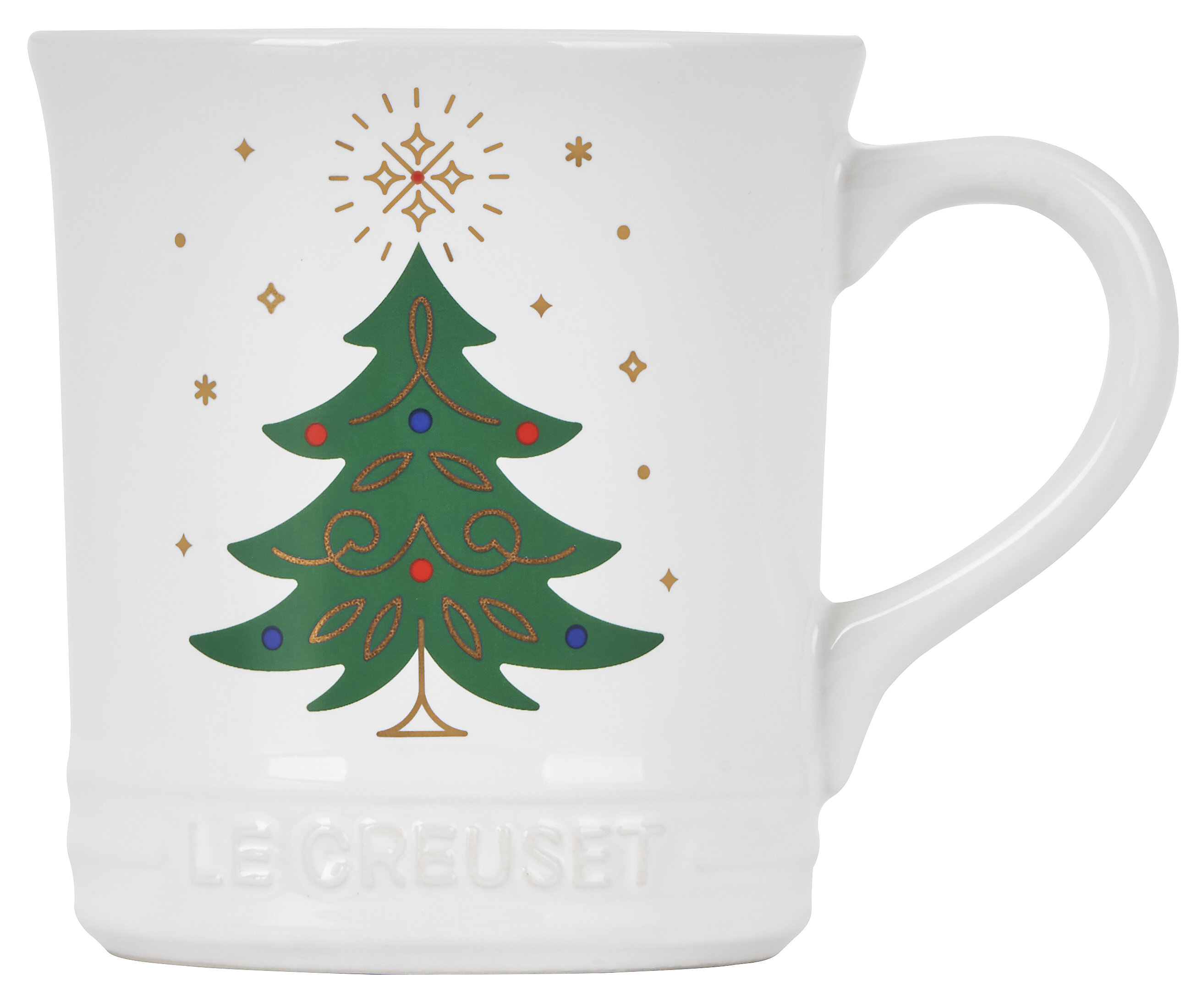 Le Creuset Noel Tree Coffee Mug Wayfair