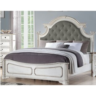 Megan Upholstered Panel Bed by One Allium Way