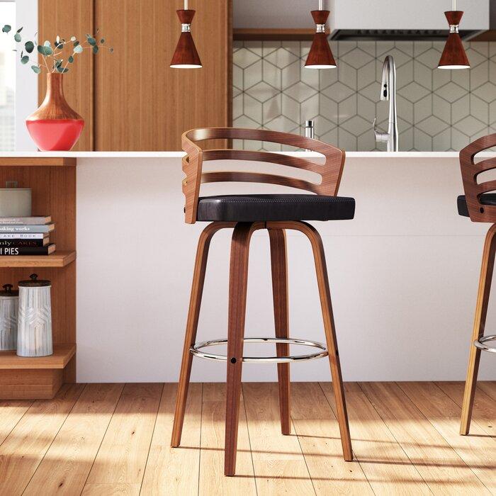 Phenomenal Wilkes Extra Tall Counter Swivel Stool Uwap Interior Chair Design Uwaporg