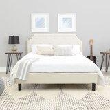 Finney Upholstered Bed by Alcott Hill®