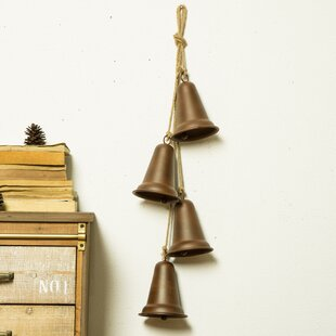 Iron Rustic Bells String Wall Decor by Loon Peak