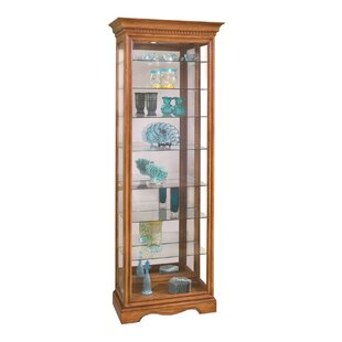 Philip Reinisch Co. Lighthouse Octave Lighted Curio Cabinet