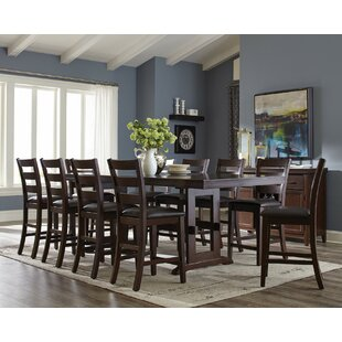 Infini Furnishings Richmond 11 Piece Counter Height Extendable Dining Set