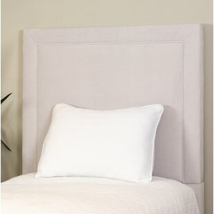 Compare prices Cayuga Personalized Twin Upholstered Headboard by Harriet Bee Reviews (2019) & Buyer's Guide