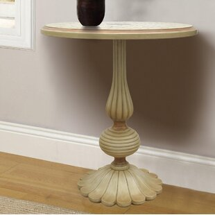 Royer Hand Painted Wooden End Table by Astoria Grand