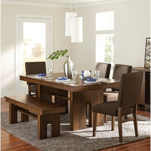 Huntley 6 Piece Extendable Dining Set Union Rustic