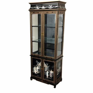 Oriental Furniture China Cabinet