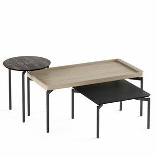 BDI Radius 3 Piece Coffee Table Set