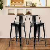 Bramblett Metal 26'' Counter Bar Stool by 17 Stories