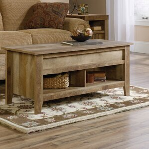 Affordable Signal Mountain Lift Top Coffee Table by Loon Peak