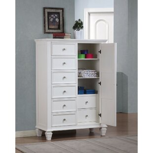 Draughn Sleek 7 Drawer Gentleman's Chest by Darby Home Co