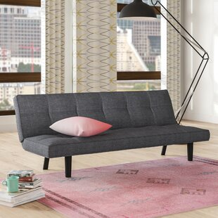 Chantal Wood Frame Convertible Sofa by Zi..