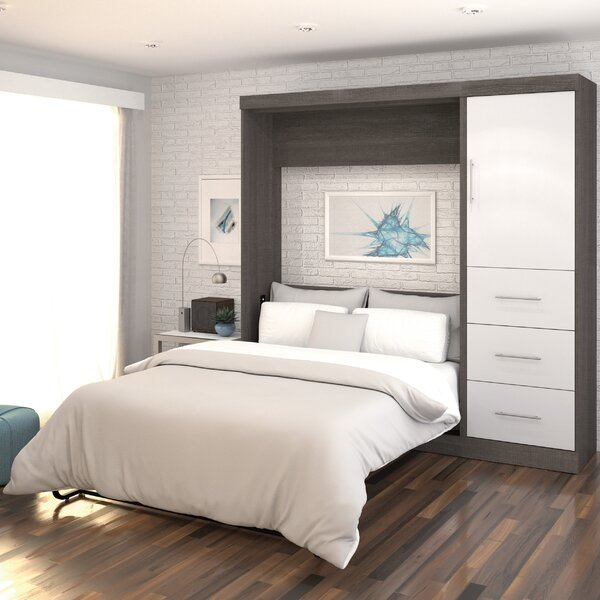 Brayden Studio Truett Full/Double Murphy Bed & Reviews