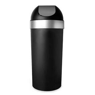 Venti Plastic 16.5 Gallon Swing Top Trash Can