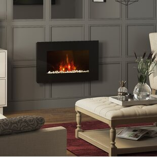 Azonto Wall Mounted Electric Fire By BeModern