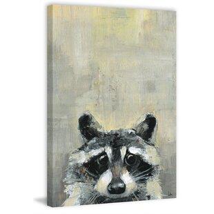 'Oh Raccoon' Canvas Art