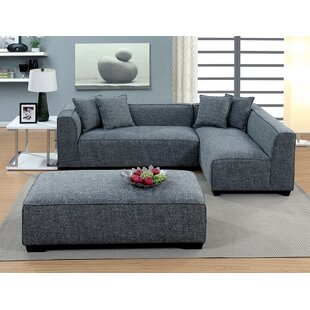 Blade Sectional with Ottoman