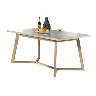 Minerva Extendable Dining Table by 17 Stories