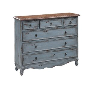 Saffron 6 Drawer Accent Chest by One Allium Way