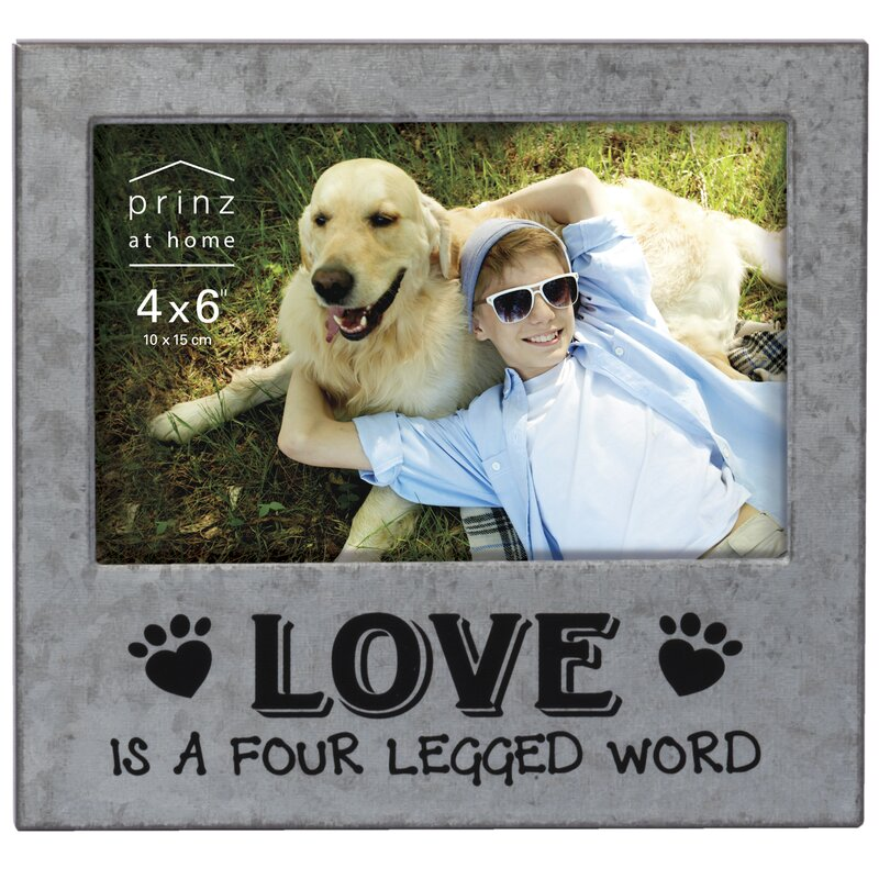 Prinz Messages & Moments \'Love Is A Four Legged Word\' Metal Picture ...