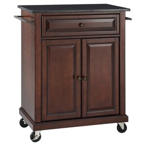 Celeste Kitchen Cart with Granite Top ..