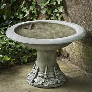 Campania International Dragonfly Small Birdbath