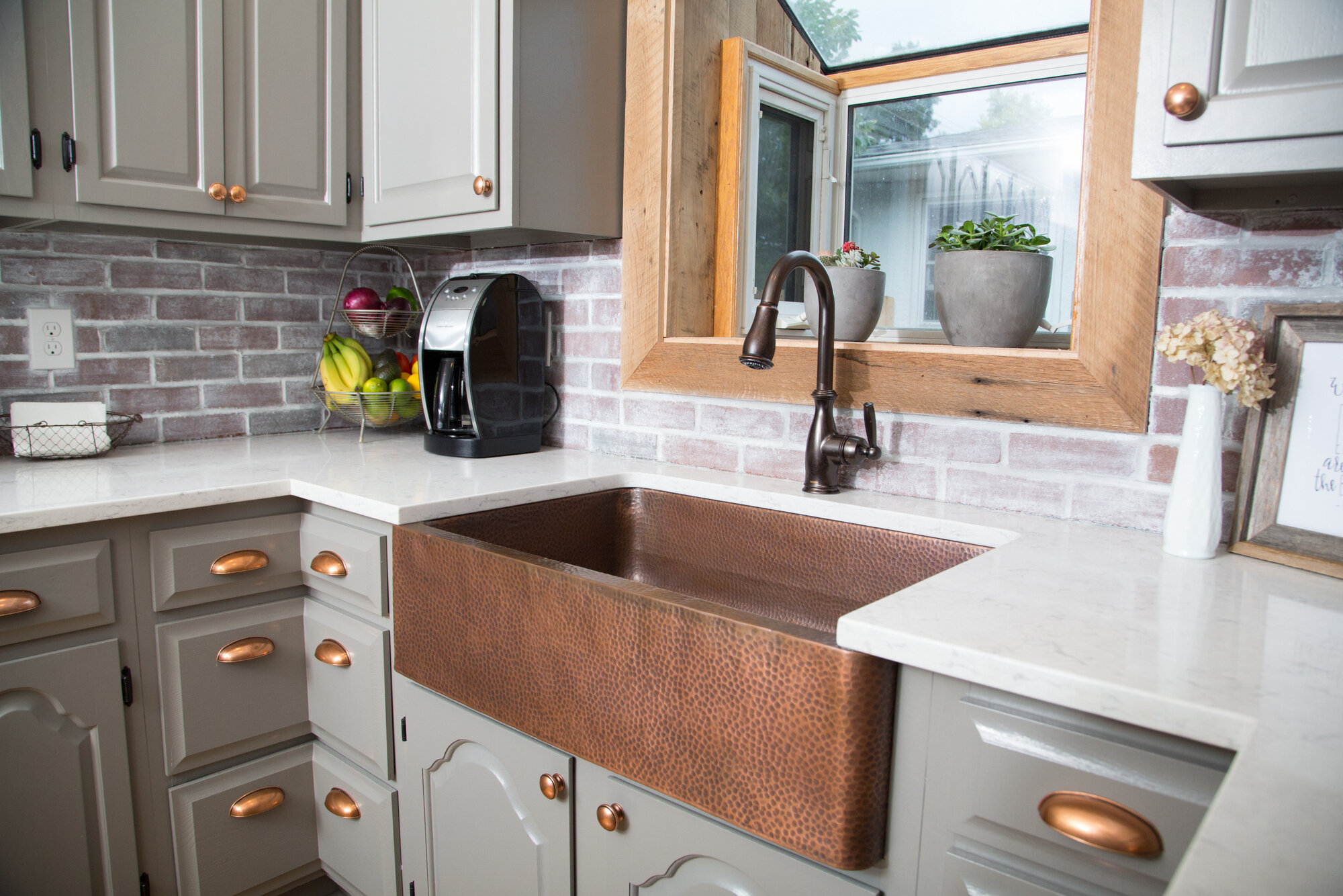 Adam 33 L X 22 W Undermount Kitchen Sink