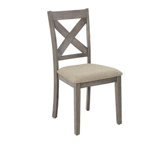 Glenn Solid Wood Dining Chair (Set of 2) Ophelia & Co.