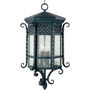 Astoria Grand Chatmon 3-Light Outdoor Hanging Lantern