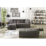 Balley 94 Reversible Sleeper Sectional with Ottoman by Latitude Run