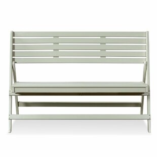 Topher Wooden Bench By House Of Hampton