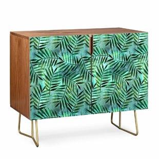 Schatzi Brown Goddess Palm Emerald Sideboard East Urban Home