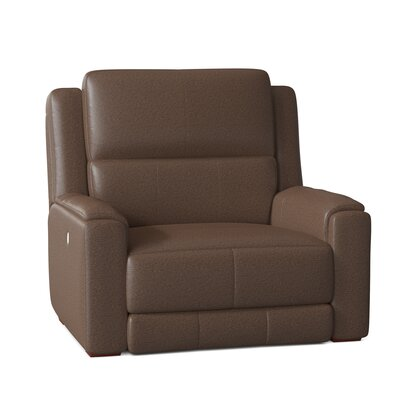 """Dazzle 45"""""""" Wide Power Wall Hugger Home Theater Recliner Southern Motion Body Fabric: Pasadena Elk, Reclining Type: Manual -  883-00-24221"""