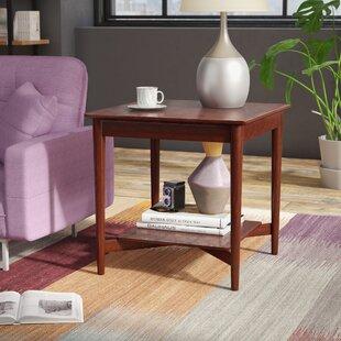 Deals Treyton Mid Century End Table ByZipcode Design