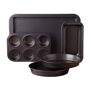 5 Piece Non-Stick Carbon Steel Bakeware Set