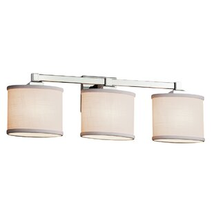 Ebern Designs Favela Regency 3 Light LED Oval Vanity Light