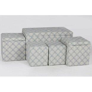 Hailee 5 Piece Cloth Tufte..