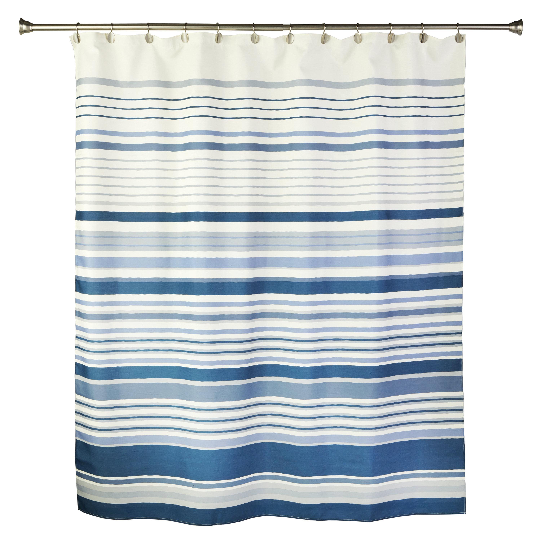 Christen Striped Shower Curtain