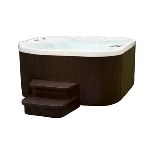 Superb Sierra DLX 5 Person 22 Jet Plug And Play Spa With Waterfall And Ozone System