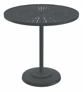 La'Stratta Aluminum Bar Table