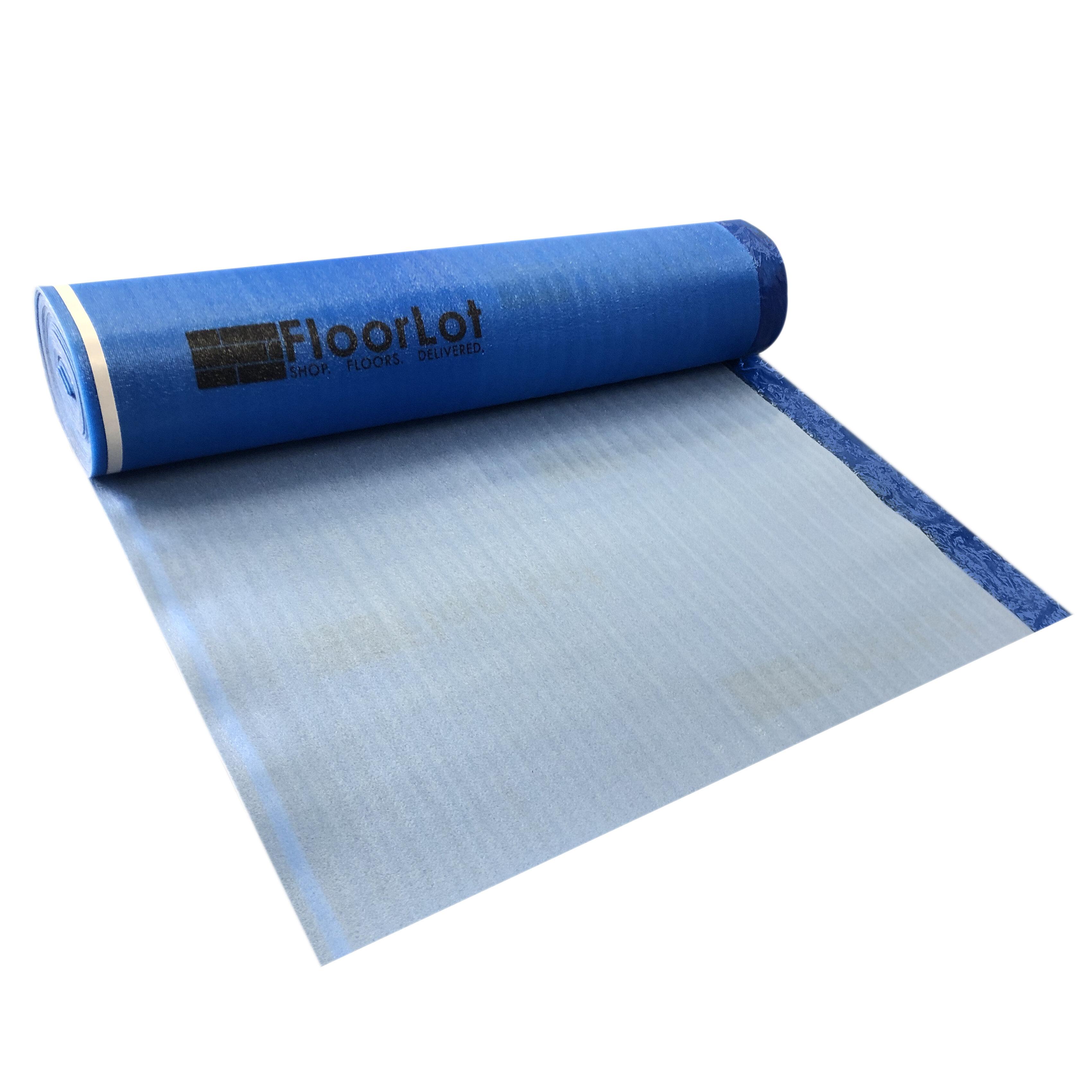 Floorlot Flooring 3 In 1 Flooring Underlayment 3mm 200 Sq Ft Roll Reviews Wayfair
