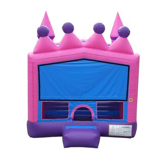 JumpOrange Princess Bounce House