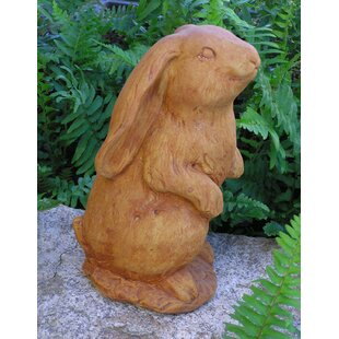 Nichols Bros. Stoneworks Standing Lop-Ear Bunny Statue
