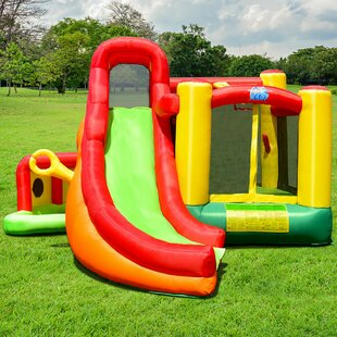 Inflatable Slide Kids Castle Jumper Bounce House By Costway