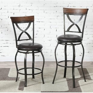 Montagu 24 Swivel Bar Stool (Set of 2) DarHome Co