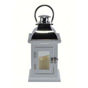 LED Wood Lantern
