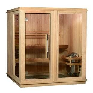 Grayson Cedar 4 Person Traditional Steam Sauna By Almost Heaven Saunas LLC