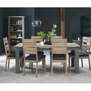 Review Dorantes Extendable Dining Set With 6 Chairs