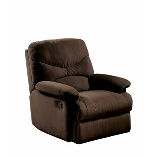 Cagnie Microfiber Manual Recliner by Ebern Designs Best Choices