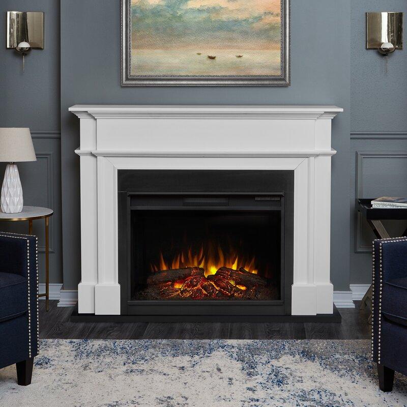 Harlan Grand Electric Fireplace